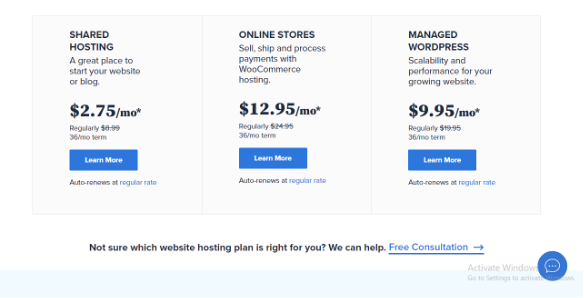 Bluehost, Web Hosting For Beginners