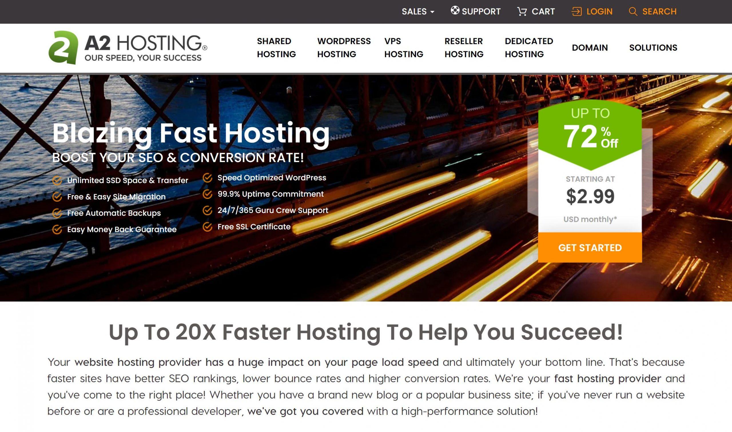 a2 hosting reivew